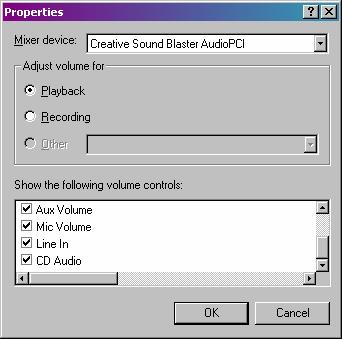 Playback Properties